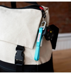 Topo Designs Key Clip Turquoise