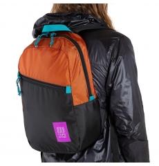 Topo Designs Light Pack Clay/Black
