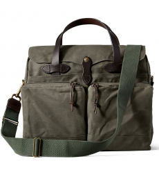 Filson 24-Hour Tin Briefcase 11070140 Otter Green