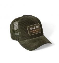 Filson Alcan Cord Mesh Cap Buck 20051030
