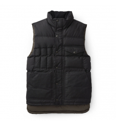Filson Down Cruiser Vest Blue Coal