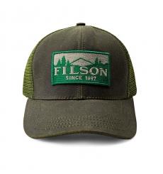 Filson Logger Mesh Cap 1130237-Otter Green