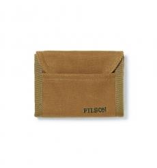 Filson Tin Cloth Smokejumper Wallet Dark Tan
