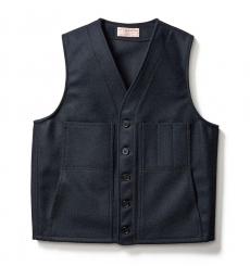 Filson Mackinaw Wool Vest Navy