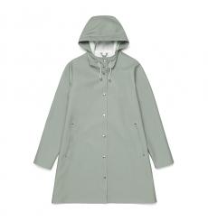 Stutterheim Mosebacke Khaki Green Raincoat