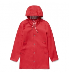 Stutterheim Stockholm Raincoat Red
