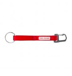 Topo Designs Key Clip Red