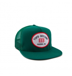 Topo Designs Snapback Hat Green