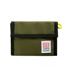 Topo Designs Velcro Wallet Olive