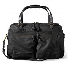 Filson 48-Hour Tin Cloth Duffle Bag 11070328-Black