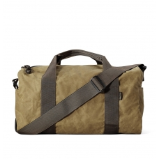 Filson Tin Cloth Field Duffle Bag Small 11070110-Dark Tan/Brown