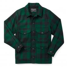 Filson Mackinaw Cruiser Jacket Green Black