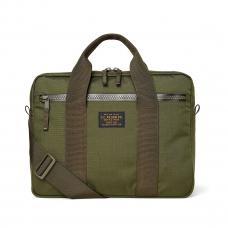 Filson Ripstop Nylon Compact Briefcase 20203678-Surplus Green