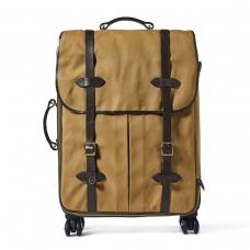 Filson Rugged Twill Rolling 4-Wheel Check-In Bag 20069584-Tan
