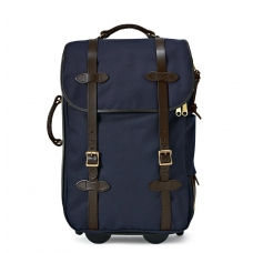Filson Rugged Twill Rolling Carry-On Bag 11070323-Navy