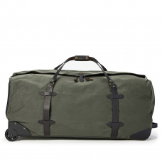 Filson Rugged Twill Rolling Duffle Bag Extra-Large 11070376-Otter Green