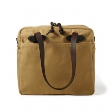Filson Rugged Twill Tote Bag With Zipper 11070261-Tan