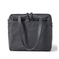 Filson Rugged Twill Tote Bag With Zipper 20112028-Cinder