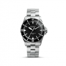 Filson The Dutch Harbor 20001749 Black Dial - Stainless Steel Bracelet