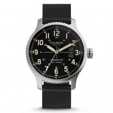 Filson Mackinaw Field Watch 10000300 Black Dail - Rubber Strap
