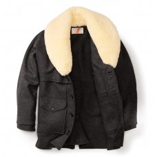 Filson Wool Packer Coat Charcoal