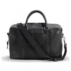 Shinola Slim Briefcase Black