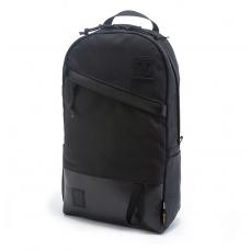 Topo Designs Daypack Ballistic/Black Leather