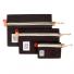 Topo Designs Accessory Bags 3 Pack Canvas Black
