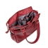 Leder Damen Laptoptasche Sarah samba red