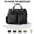 Filson 24-Hour Tin Briefcase 11070140 Black color-swatch and description