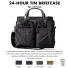 Filson 24-Hour Tin Briefcase 11070140 Cinder colors-watch and description