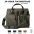 Filson 24-Hour Tin Briefcase 11070140 Otter Green color-swatch