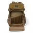 Filson Alcan Tin Cloth Tool Backpack 20167379-Dark Tan front pocket inside