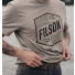 Filson Buckshot T-shirt Sand Stone lifestyle