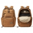 Filson Dryden Backpack 20152980 Whiskey front and open