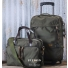 Filson Ballistic Nylon Dryden Briefcase and Rolling Carry-On Bag Lifestyle