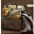 Filson Excursion Bag 11070347 Tan with wet boots
