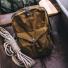 Filson Journeyman Backpack 11070307 Tan in canoe
