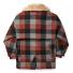Filson Lined Wool Packer Coat Black/Charcoal/Rust back