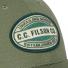 Filson Logger Cap 20204521-Army Green/Kenai patch detail