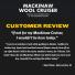Filson Mackinaw Cruiser Red Black customer review