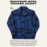 Filson Mackinaw Cruiser Jacket Cobalt Black New Color