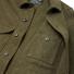 Filson Mackinaw Cruiser Jacket Forest Green front pocket