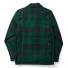 Filson Mackinaw Cruiser Jacket Green Black back