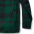 Filson Mackinaw Cruiser Jacket Green Black back-pocket detail