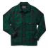 Filson Mackinaw Cruiser Jacket Green Black front
