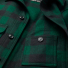 Filson Mackinaw Cruiser Jacket Green Black front-pocket detail