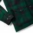 Filson Mackinaw Cruiser Jacket Green Black sleeve detail