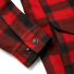 Filson Mackinaw Cruiser Jacket Red Black sleeve detail