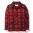 Filson Mackinaw Cruiser Jacket Red Black front